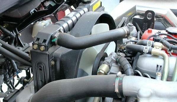 out了 卡车也用电子风扇给发动机散热了