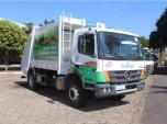 配备艾里逊自动变速箱的环卫车在巴西的包鲁市首次亮相