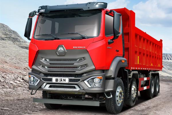 豪沃N5W轻量化自卸车 创造卓越价值